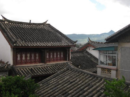 Lijiang Garden Inn: View from deluxe double room