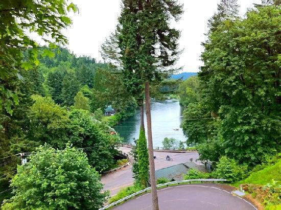 Oregon City, Орегон: Very nice view of the Clackamas River
