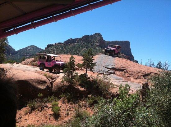 Pink Jeep Tours Sedona: Jeep Jeep