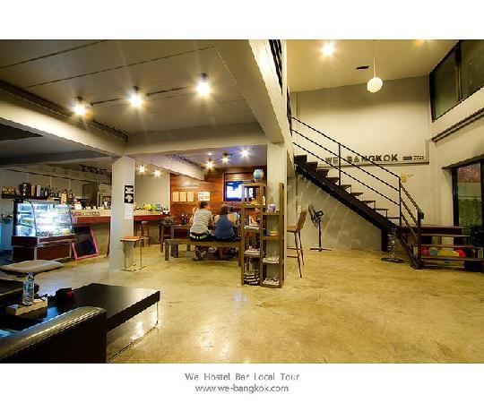 WE Bangkok Hostel: lobboy