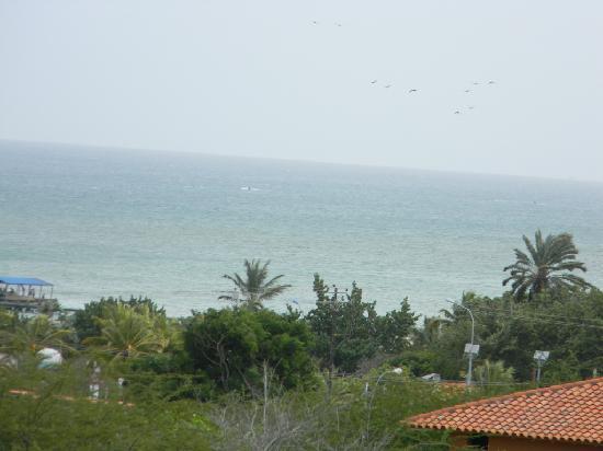 Hotel Atti: Vista de la terraza a playa el yaque