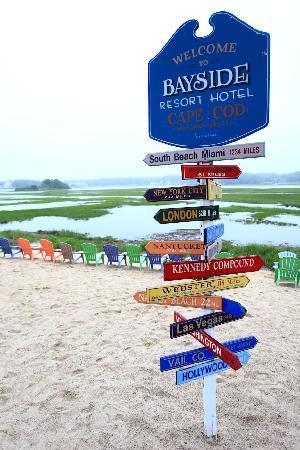 Bayside Resort Hotel: Back Waterfront 2