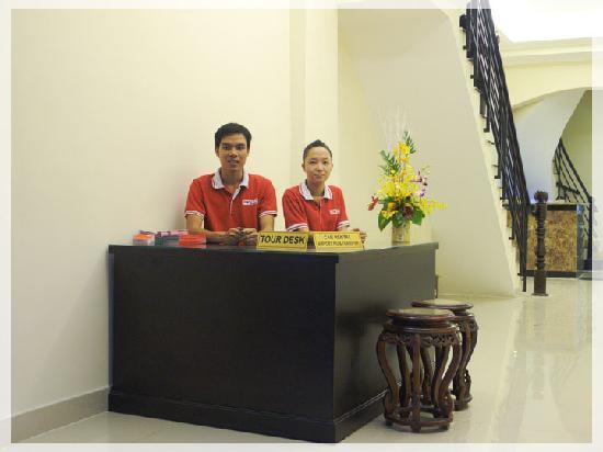 Graceful Saigon Hotel : Travel Help Desk