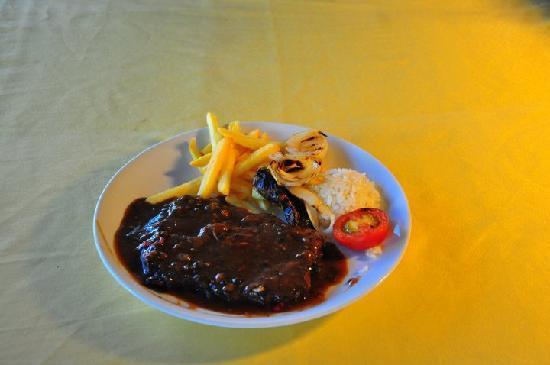 Demeter Bar & Restaurant: Pepper Steak