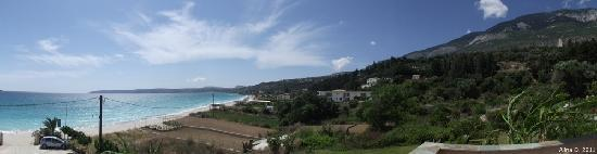 Lourdas, Grecia: Panoramic view from our room
