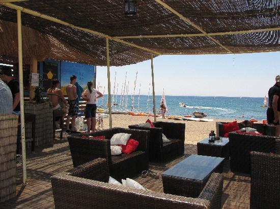 Skala Eressou, Grécia: The Beach Bar