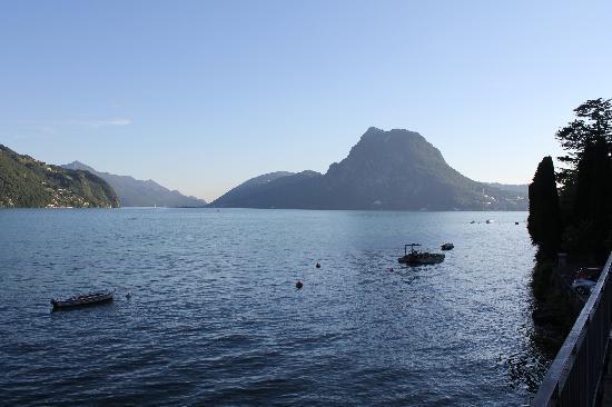 Lido San Domenico : Verso Lugano...