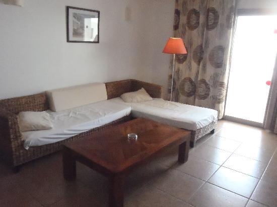 Aguamarina Golf Apartments: The lounge area