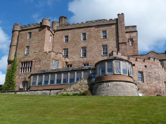 Dalhousie Castle: View of Castle and the Conservatory