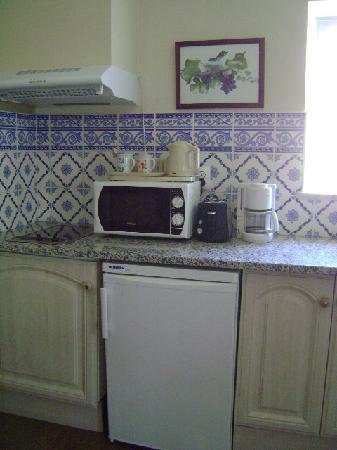 Villas D. Dinis, cocina, Lagos, Portugal.
