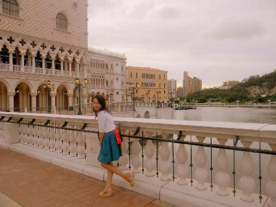 Macau, China: at the Venetian Hotel