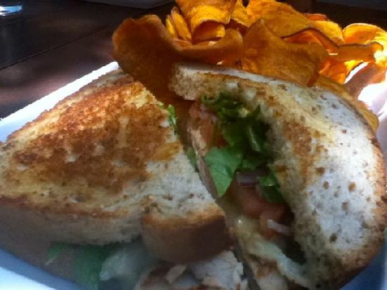 Mesh Restaurant: Turkey sandwich