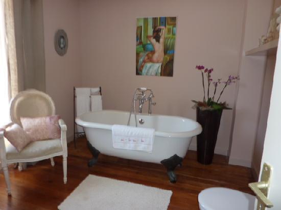 Villa Ker huel : Chambre Boudoir - Salle de bain