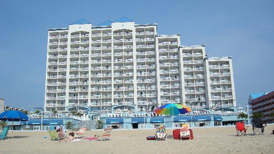 Holiday Inn Hotel & Suites Ocean City: from the beach