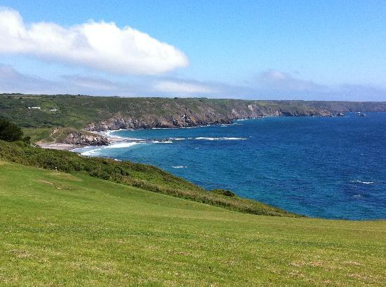 Lizard, UK: View from pitch & putt