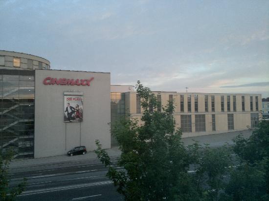 Ibis Regensburg City: View from my room