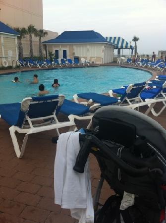 SpringHill Suites Virginia Beach Oceanfront: one of two pools