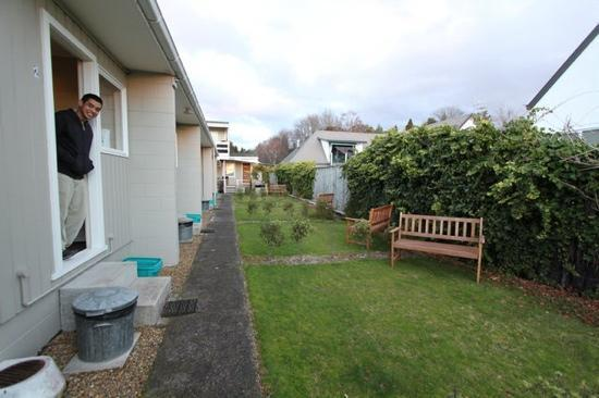 Accent on Taupo Motor Lodge: backyard