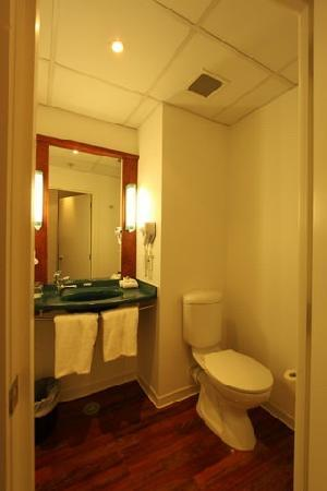 ibis Wellington: bathroom