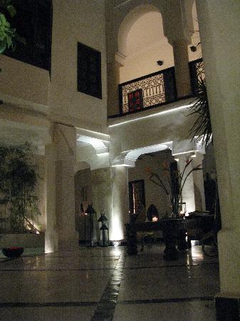 Riad Bamboo: de nuit