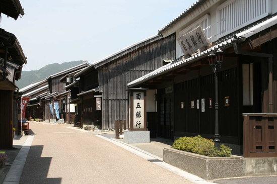 Kameyama, Japan: 街も静かでした。