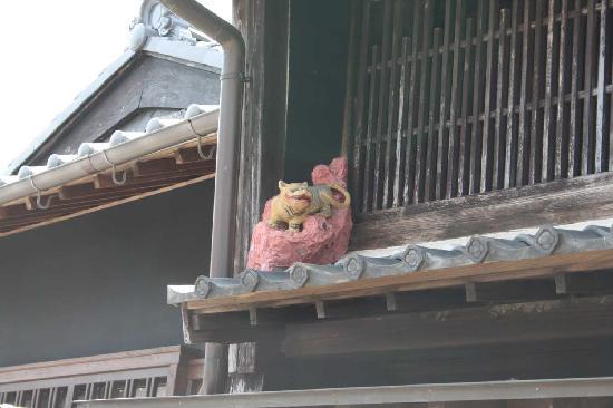 Kameyama, Japan: 屋根飾り