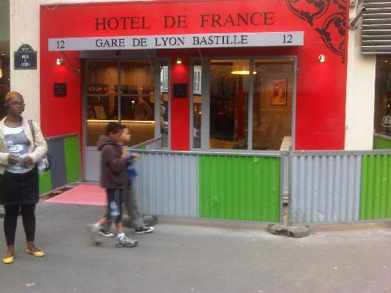 Hotel de France Gare de Lyon Bastille: The hotel