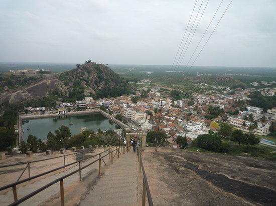 Bhagawan Bahubali Statue (Gommateshwara): View from the top
