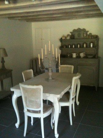 Le Chai de Villiers : Dining Room