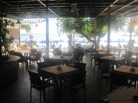 Lido Star Beach: Hotelterasse (hier gibts Abendessen)
