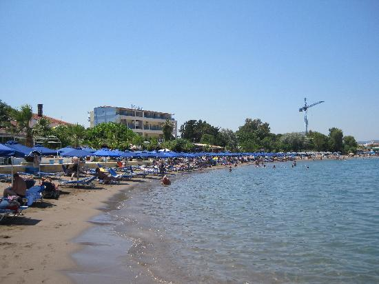 Lido Star Beach: Strand und Hotel