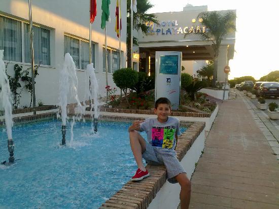 Playacartaya Spa Hotel: entrada