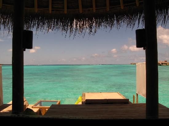 Six Senses Laamu: view from the villa