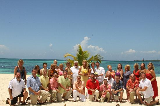 Breezes Resort Spa Bahamas Mr And Mrs Brown Wedding Party