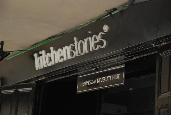 Restaurante Kitchen Stories: Kitchen Stories, Madrid