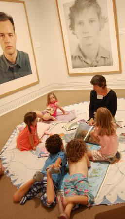 Ackland Art Museum: Pajama Party, June 2011.