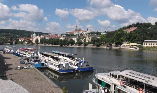 Praga, Republika Czeska: Vltava River View