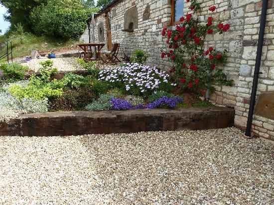 Withy Mills Farm: Garden view