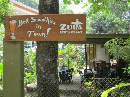 Zula Restaurant: Try our own Special Healthy Smoothie!
