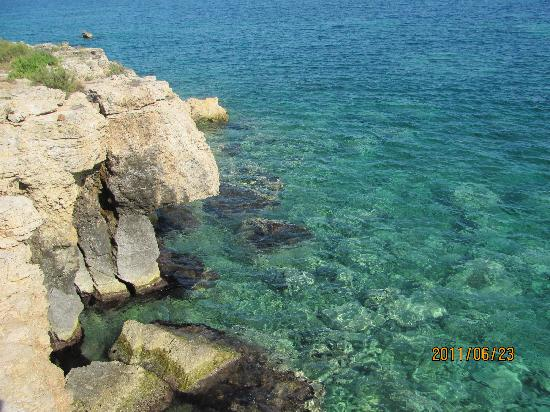 VOI Arenella Resort: la scogliera