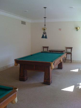 Grande Hotel Sao Pedro: Game room
