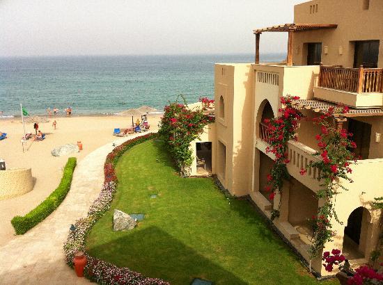Miramar Al Aqah Beach Resort Ausblick Aus Dem Zimmer
