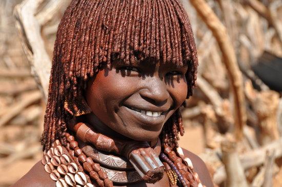 Jinka, Etiopía: Hamar Volk