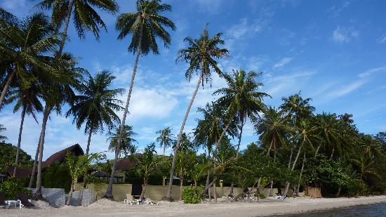 The Passage Samui Villas & Resort: Hotel vom Meer aus