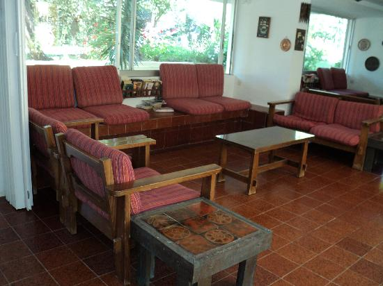 Hotel Lalaria: pleasant quiet lounge to read or just relax