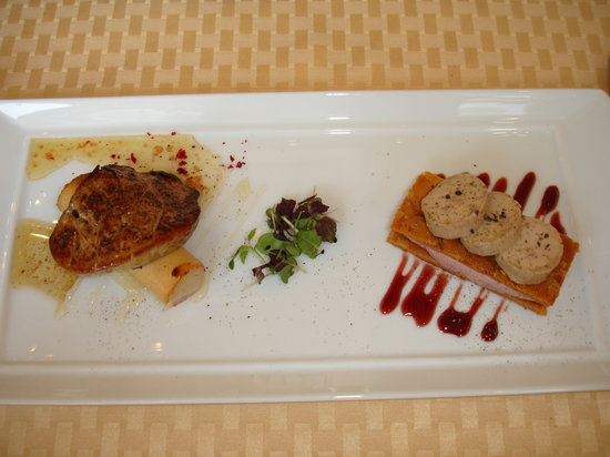 Four Seasons Hotel Gresham Palace : Foie Gras duo