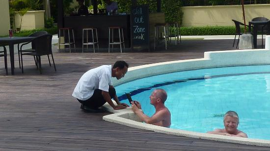 The Passage Samui Villas & Resort: Mit Cham am Pool