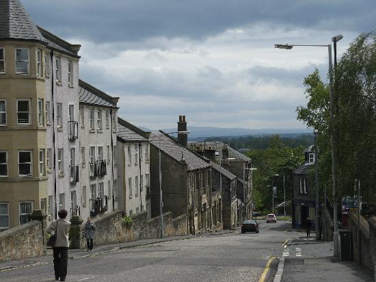 street in dunfermline scotland picture of scotland. Black Bedroom Furniture Sets. Home Design Ideas