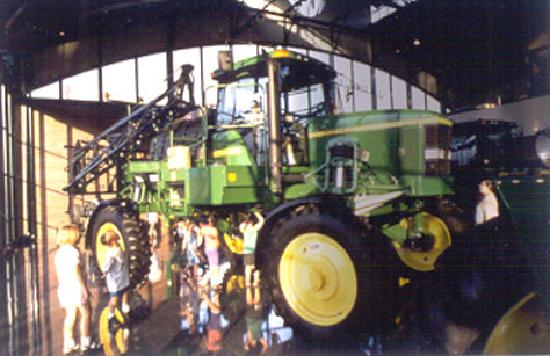 Moline, IL: Visit the famous John Deere Pavilion agricultural exhibit