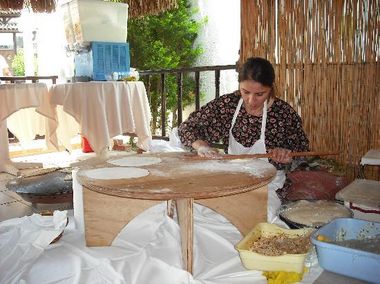 Bitez, Turquia: Mittagessen mal anders